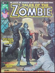Tales of the Zombie #6 F/VF 7.0 (Marvel 1974) Features: Brother Vodoo!