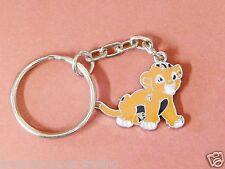 DISNEY SIMBA LION KING ENAMEL KEYRING/Keychain/bag charm/gift