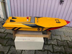 Rennboot Verbrenner mit 6,5 ccm Benzinmotor