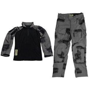 Men Tactical Hunting T-Block G3 Combat Uniform Pullover Shirt Pants Trousers
