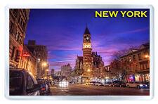 NEW YORK SUNSET MOD7 FRIDGE MAGNET SOUVENIR IMAN NEVERA