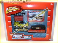 1965 '65 FORD MUSTANG 1970 '70 CHALLENGER PONY POWER GARAGE JOHNNY 2012 DIECAST