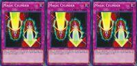 Magic Cylinder 1st X 3 YUGIOH LDK2-ENY37 Normal Trap Card