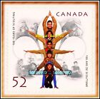 CANADA 2007 CANADIAN 100 YEARS OF SCOUTING FV FACE 52 CENT MNH BOOKLET STAMP