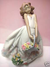 Wildflowers Female Figurine By Lladro #6647