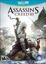 Assassin's Creed III  (Nintendo Wii U, 2012)