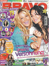 BRAVO 42/08.10.2008 Poster Simple Plan+ Franck Ribery FC BAYERN + Miley Cyrus A