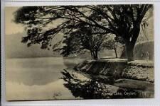 (Gg405-100) Kandy Lake, Sri Lanka, CEYLON c1910 Unused VG
