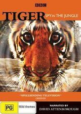 Tiger: Spy in the Jungle - David Attenborough New, Dead Stock, Genuine D57