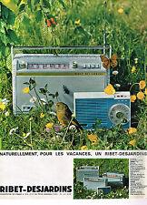 PUBLICITE ADVERTISING 054  1961  RIBET-DESJARDINS   transistor