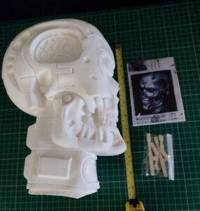 Elfin - Terminator T-800 Skull Vinyl Model Kit - Full Size 1:1 Scale - Bust Head
