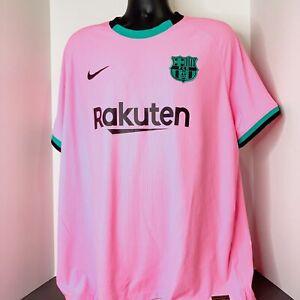 FC Barcelona 20/21 Third Nike Vaporknit Soccer Jersey Size XXL CK7654-654 NWT