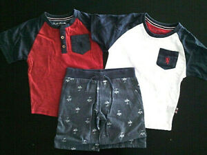 Infant/Boys English Laundry $42 - $54 Two-S.S. T-Shirts & Shorts  Sz 12Mth. -  7