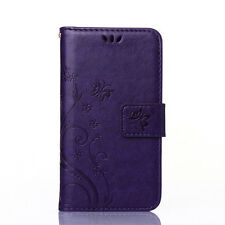 Flip Card Holder PU Leather Wallet Case Stand Cover For Samsung Galaxy Phones