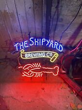 New ListingShipyard Brewing Neon Sign