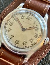Hy Moser Military 1940s WWII 17J Wrist Watch SERVICED Jean Louis Roehrich