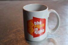 The Price Is Right Coffee Mug Advertising Coffee Mug TV  Show