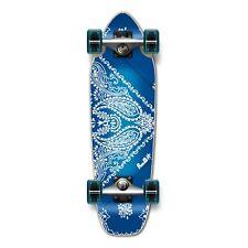 BLUE Bandana Graphic Complete Longboard Mini Cruiser