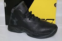 UNDER ARMOUR UA PS CURRY 2.5 BOYS BASKETBALL SHOE, SIZE 1.5, BLACK, 1276333
