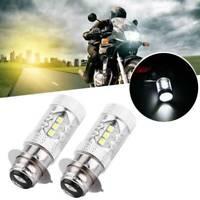 2PCS - Headlight H6 80W 16 Led Fog Light PX15D BA20D Headlight Super Bright Kits
