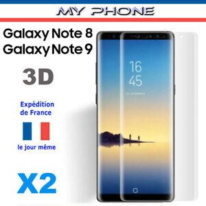 VERRE trempé Galaxy NOTE 8 / 9 Samsung Vitre Film protection d'écran Intégrale