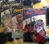 ADAM STRANGE #1, 2, 3 (1990) - DC Comics - NM