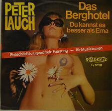 """PETER PUERRO-LA Hotel de montaña- PUEDE ES MEJOR QUE ERNA GOLDEN 12 Single 7"""""""