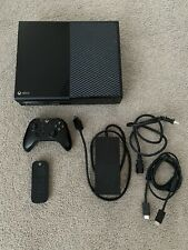 Microsoft Xbox One 500GB Black Console + Xbox remote