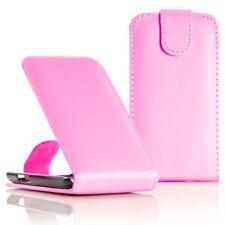 Kunstleder Handy Schutzhülle mit Klappe für Samsung Wave Y S5380