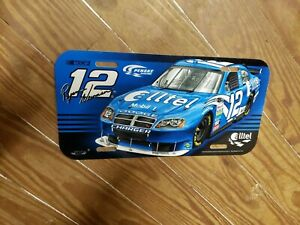 L@@k!!! Nascar Ryan Newman #12 plastic License Plate Car Truck Tag