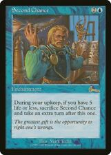 Second Chance Urza's Legacy NM Blue Rare MAGIC THE GATHERING MTG CARD ABUGames