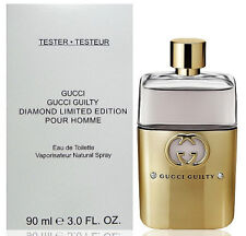 Treehouse: Gucci Guilty Pour Homme Diamond EDT Tester Perfume For Men 90ml
