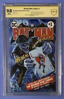 Batman Who Laughs #1 CBCS 9.8 (NOT CGC) Mayhew ULTIMATE EDITION 187/250