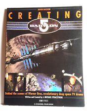 1996 Creating Babylon 5 Reference Book-Imported from Uk-128 pgs-Free S&H(C5578)