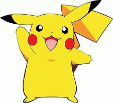 "Pokemon Go Pikachu Cartoon Game App Car Bumper Sticker Decal 2.5"""