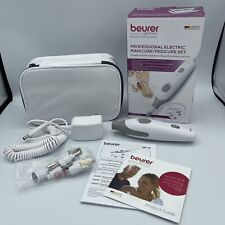 Beurer MP32 Professional Manicure & Pedicure Kit with 7 Attachments & Pouch