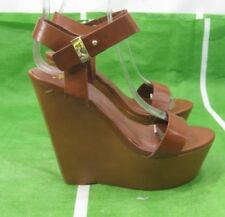 Unbranded High (3 in. to 4.5 in.) Leather Platforms & Wedges Heels for Women