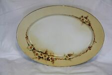 PMR Bavaria Vintage Oval Platter 15 inches x 11 Inches in Size - Cool Platter!