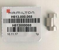 Original Hamilton Khaki 18mm Steel Watch Link Fits Bracelet Model H605644104