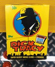 Topps Dick Tracy Trading Cards Box 36 Packs Madonna