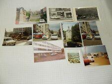 Vintage  :   lot de photos d' anciennes voitures