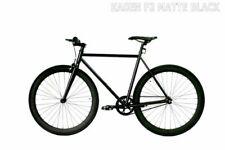 "Fixed Gear Bike Caraci F2 Steel Black bicycle 27"" men women fixie city bike"