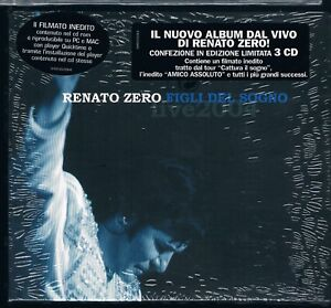 RENATO ZERO FIGLI DEL SOGNO - 3 CD DIGIPACK F.C SIGILLATO!!!