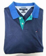 Tommy Hilfiger,Neuwertig,Damen,Polo,Shirt,Blau,L(USA),Gr.42