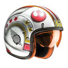 HJC FG-70S Star Wars X-Wing Fighter moto casco de motocicleta de cara abierta