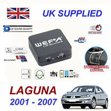 Renault LAGUNA MP3 SD Card Reader USB CD AUX Input Audio Digital CD Changer