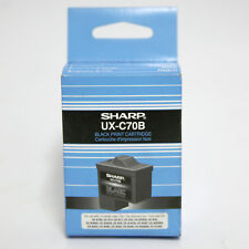 sharp ux c70b. genuine sharp ux-c70b black print cartridge for ux-b700, ux-b15, ux-b17 ux c70b
