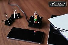 IN-14 SINGLE DIGIT NIXIE TUBE CLOCK ASSEMBLED WITH ADAPTER by MILLCLOCK WARRANTY