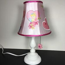 Disney Princess Lamp Cinderella Pink Bedroom Nursery Kids Baby Room
