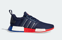 adidas Originals NMD_R1 Los Angeles Boost Shoes in Navy and Scarlet